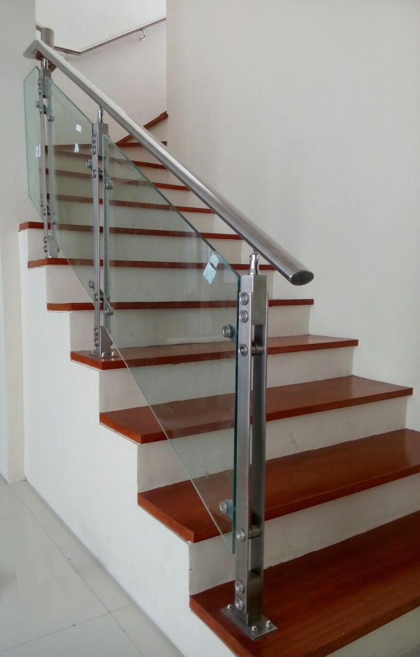 railing tangga makmur aluminium 3