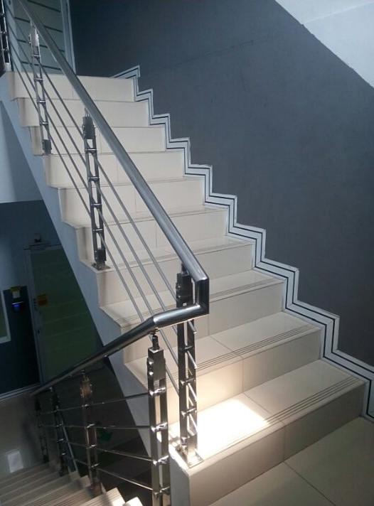 railing tangga makmur aluminium 6