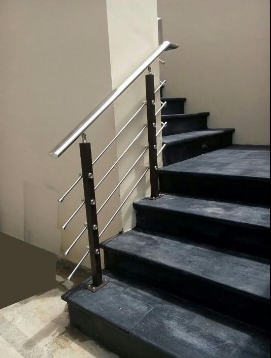 railing tangga makmur aluminium 9