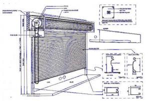 Sistem Kerja Rolling Door Motor Elektronik